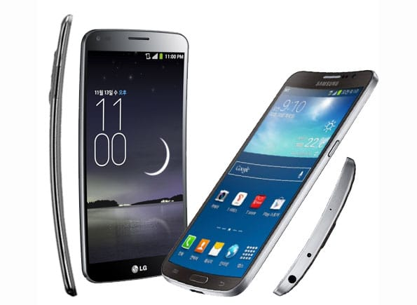 Curved Screen Phones