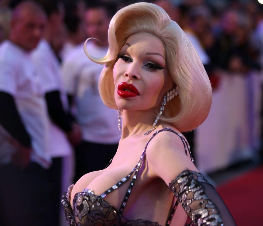Transsexual amanda lepore silicone injections photo 483